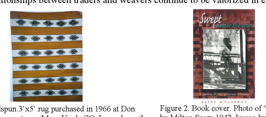 PDF] Navajo (Diné) Weavers and Globalization: Critiquing the