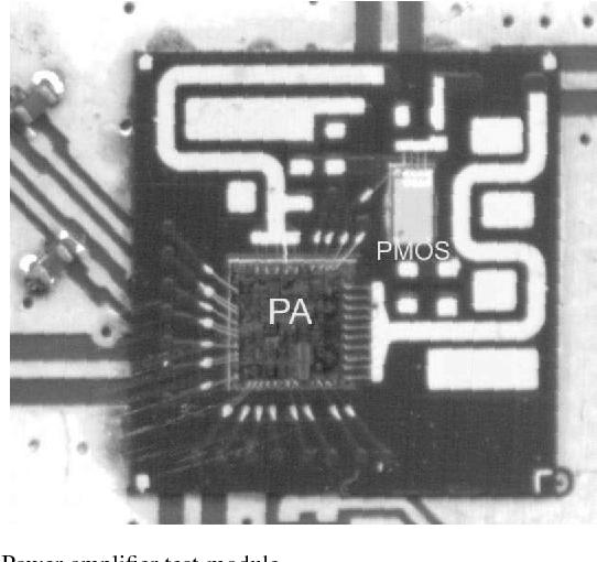 Fig. 1. Power amplifier test-module.