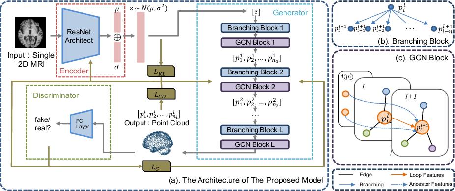 Figure 1 for A Point Cloud Generative Model via Tree-Structured Graph Convolutions for 3D Brain Shape Reconstruction