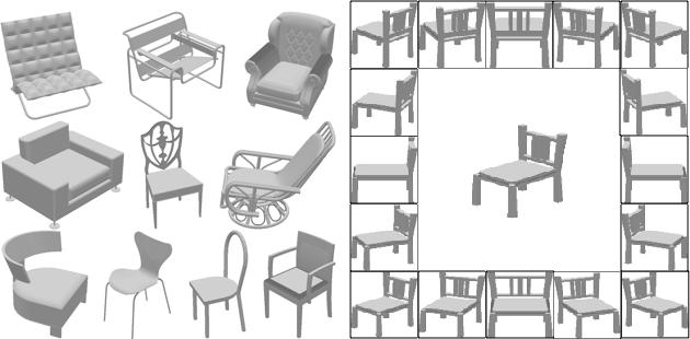 Figure 1 for Pose Estimation Based on 3D Models
