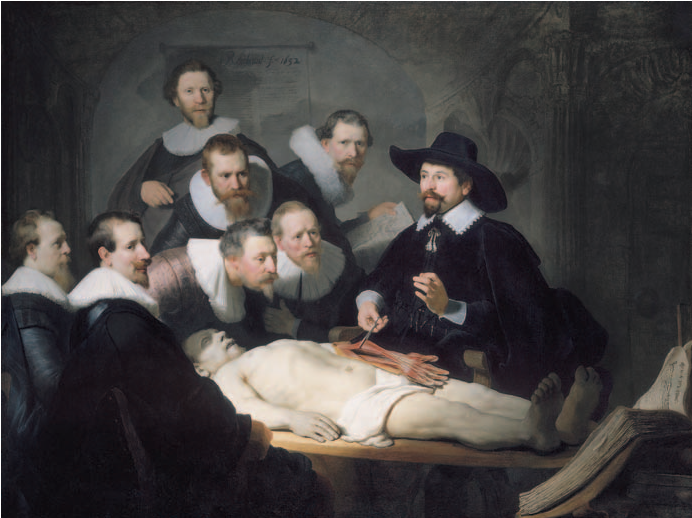 Figure 1 From The Anatomy Lesson Of Dr Nicolaes Tulp Painted By