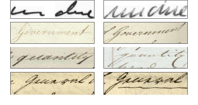 Figure 1 for HWNet v2: An Efficient Word Image Representation for Handwritten Documents