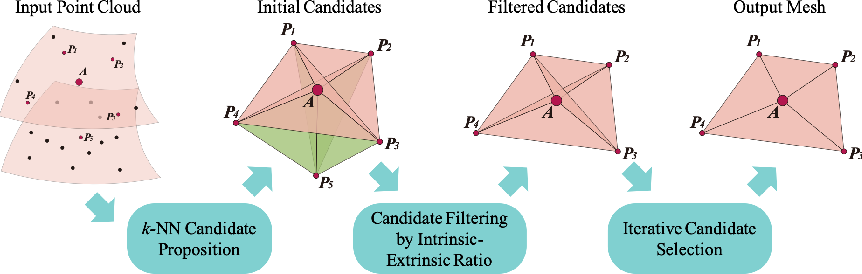 Figure 1 for Meshing Point Clouds with Predicted Intrinsic-Extrinsic Ratio Guidance
