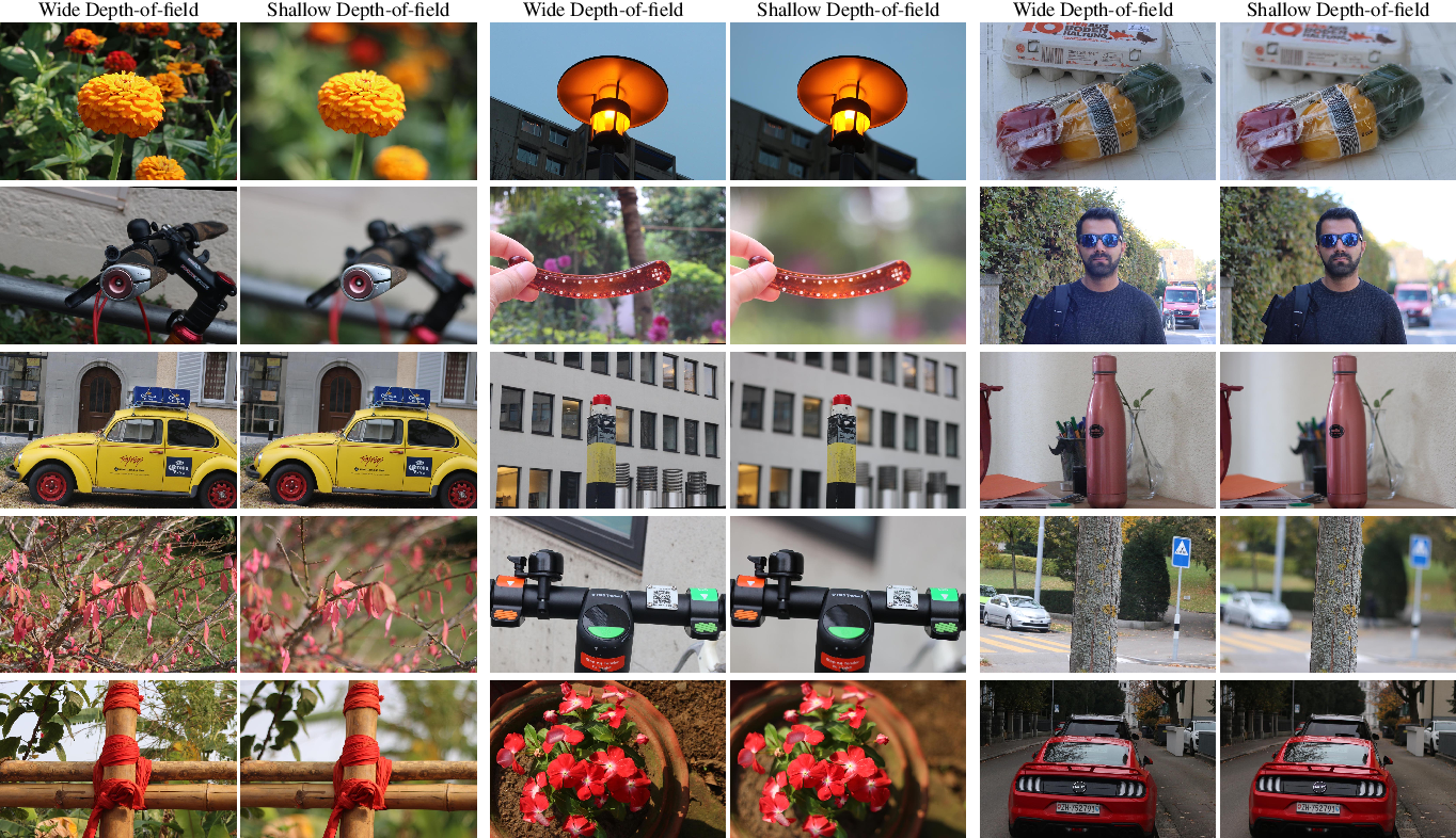 Figure 3 for Rendering Natural Camera Bokeh Effect with Deep Learning