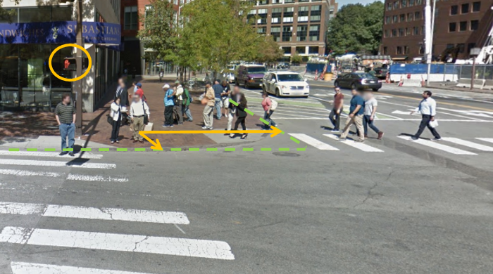 Figure 1 for Context-Aware Pedestrian Motion Prediction In Urban Intersections