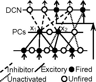 Figure 3 for Motor Learning Mechanism on the Neuron Scale