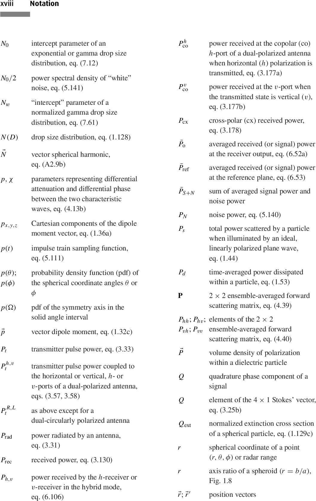 PDF] Polarimetric Doppler Weather Radar: Principles and