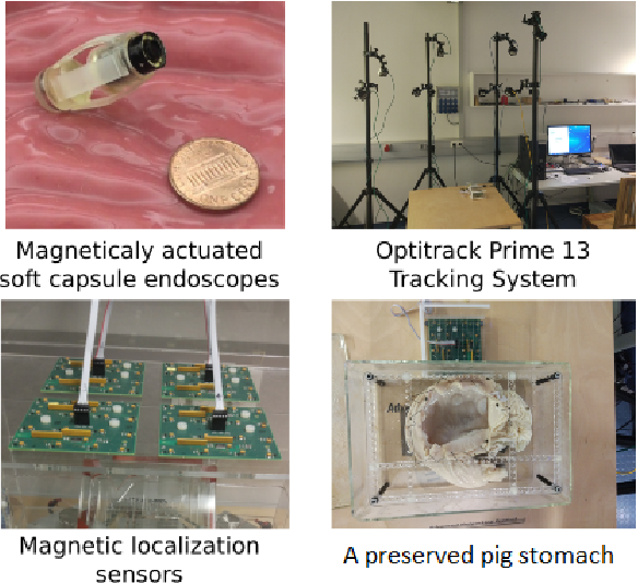 Figure 4 for EndoSensorFusion: Particle Filtering-Based Multi-sensory Data Fusion with Switching State-Space Model for Endoscopic Capsule Robots