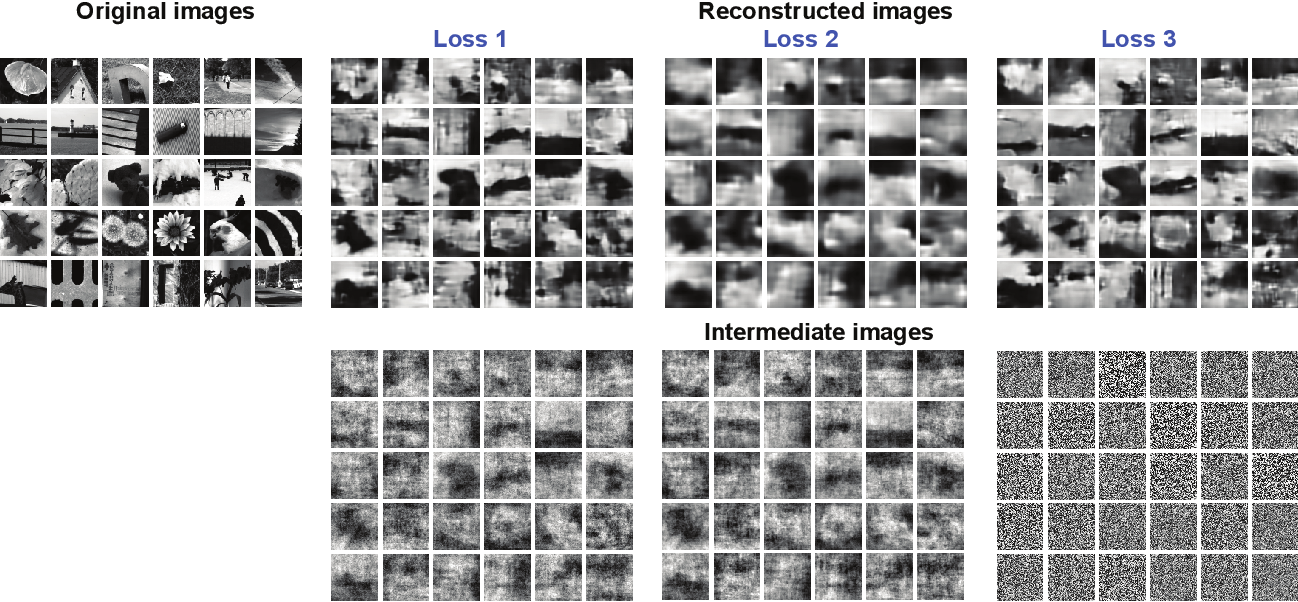 Figure 2 for Reconstruction of Natural Visual Scenes from Neural Spikes with Deep Neural Networks