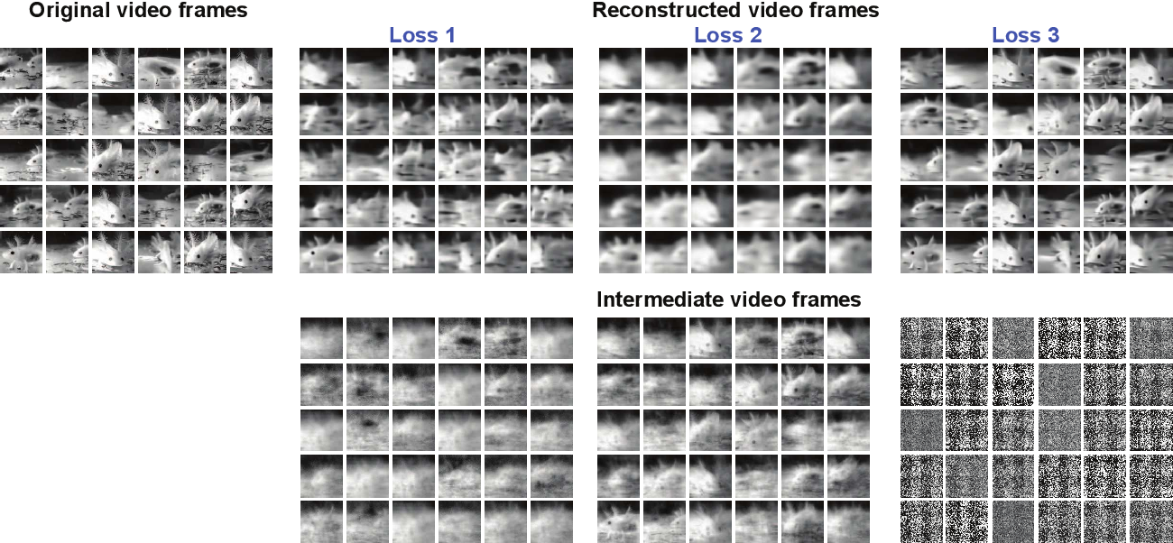 Figure 3 for Reconstruction of Natural Visual Scenes from Neural Spikes with Deep Neural Networks