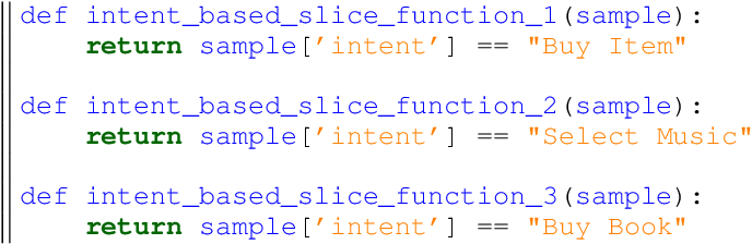 Figure 2 for Handling Long-Tail Queries with Slice-Aware Conversational Systems