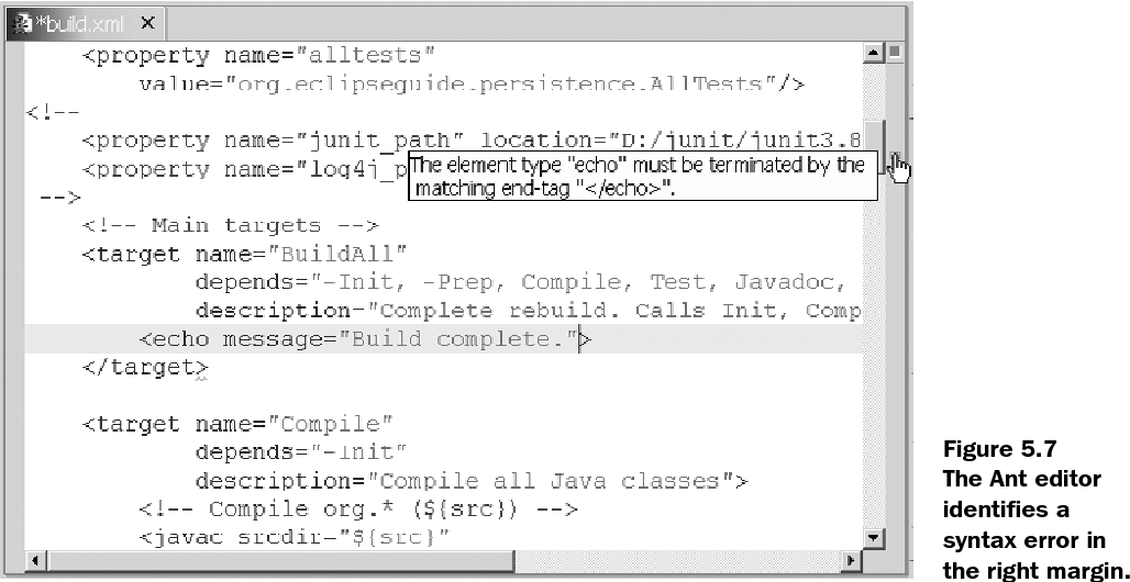 Figure 5 7 from Eclipse in action : a guide for Java