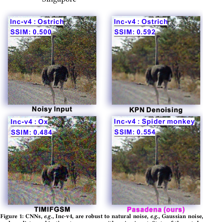 Figure 1 for Pasadena: Perceptually Aware and Stealthy Adversarial Denoise Attack