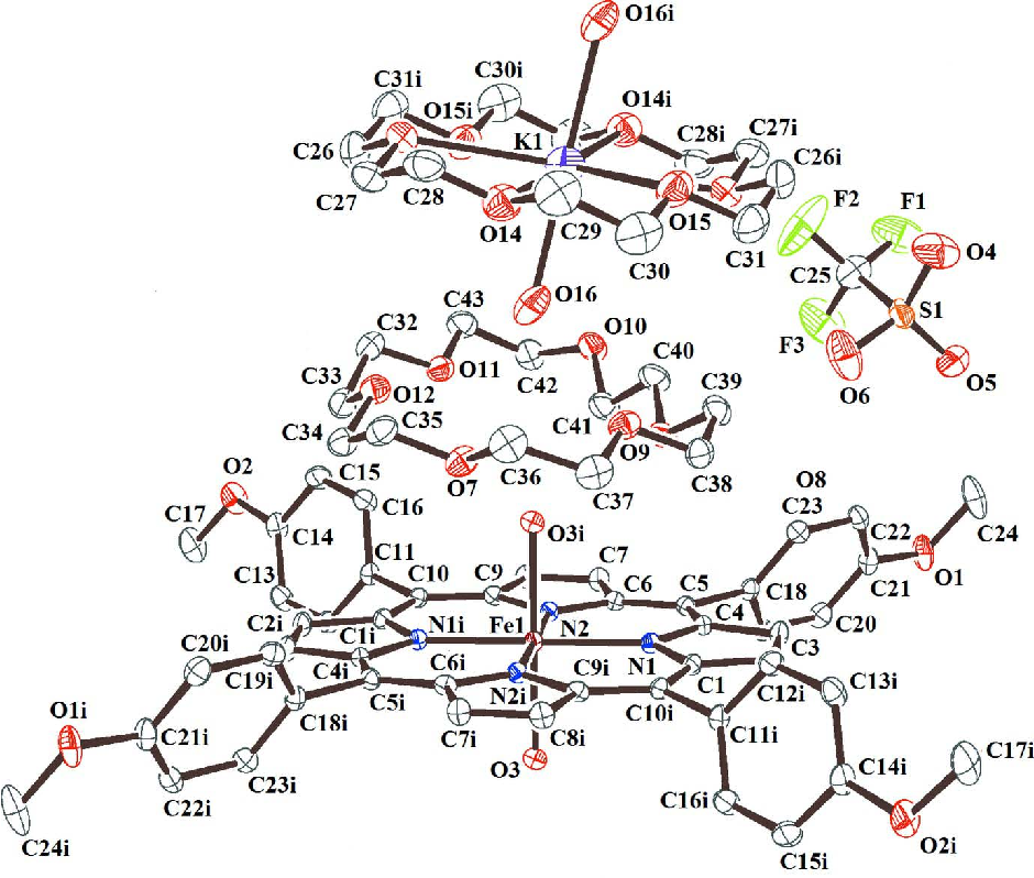 Figure 1 From Crystal Structure Of Diaqua5101520 Tetrakis4