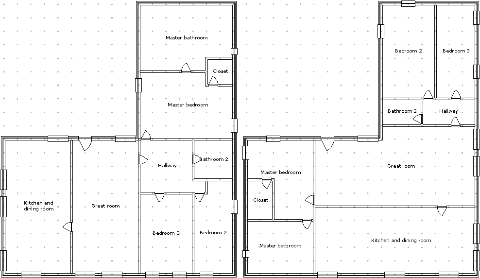 Figure 5 from A Constrained Growth Method for Procedural Floor Plan