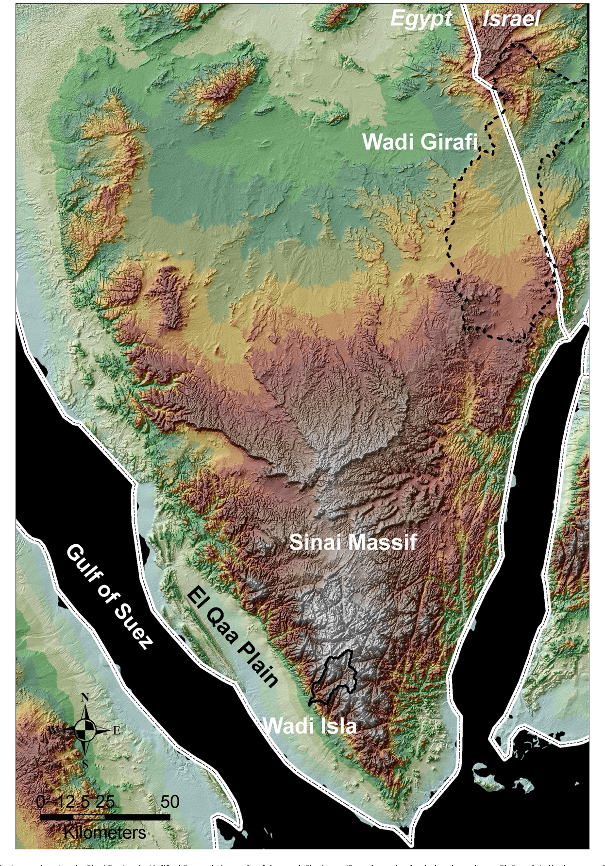 Figure 1 from Reconstructing an extreme flood from boulder transport