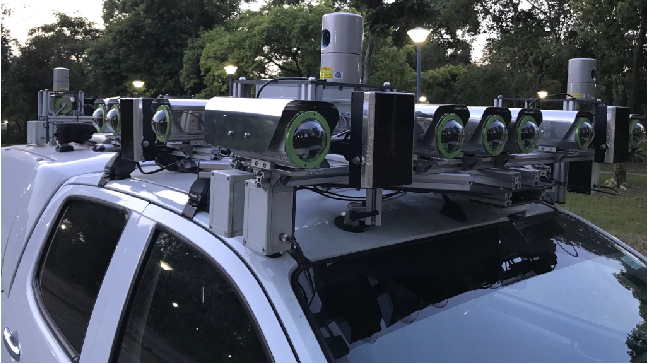Figure 2 for Project AutoVision: Localization and 3D Scene Perception for an Autonomous Vehicle with a Multi-Camera System
