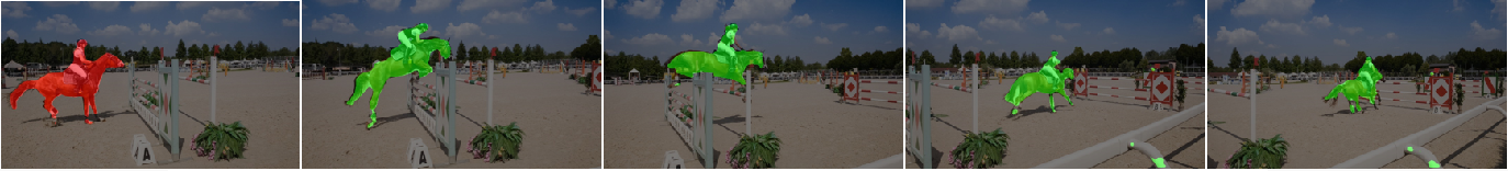 Figure 3 for Meta Learning with Differentiable Closed-form Solver for Fast Video Object Segmentation