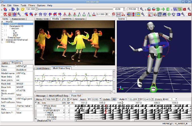 Figure 1 from Choreonoid: Extensible virtual robot environment built
