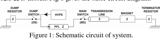 Figure 1: Schematic circuit of system.