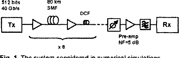 Fig. 1. The system considered in numerical simulations.