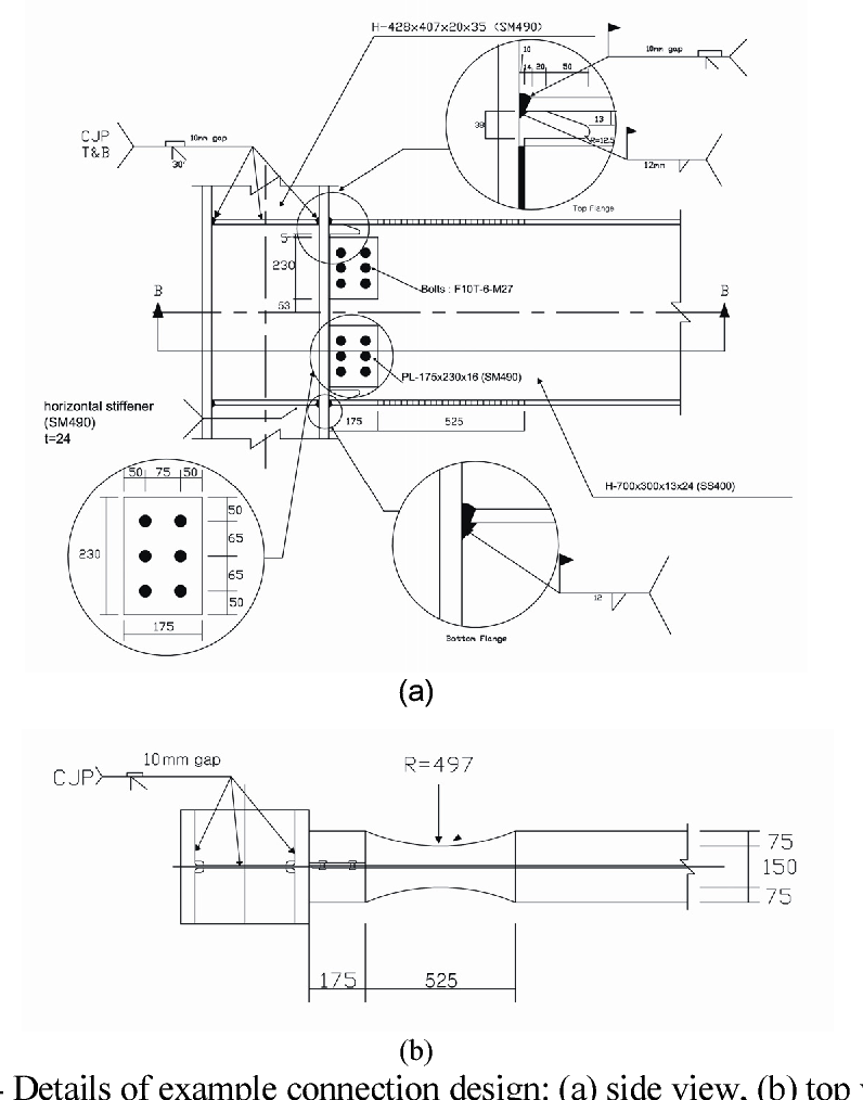 Figure 14 from Seismic Design of Reduced Beam Section (RBS) Steel
