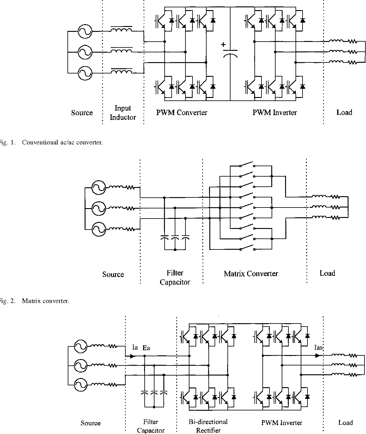 Ac Power Conversion Based On Matrix Converter Topology With Rectifier Capacitor Filter Public Circuit Online Unidirectional Switches Semantic Scholar