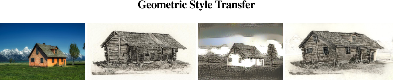 Figure 1 for Geometric Style Transfer