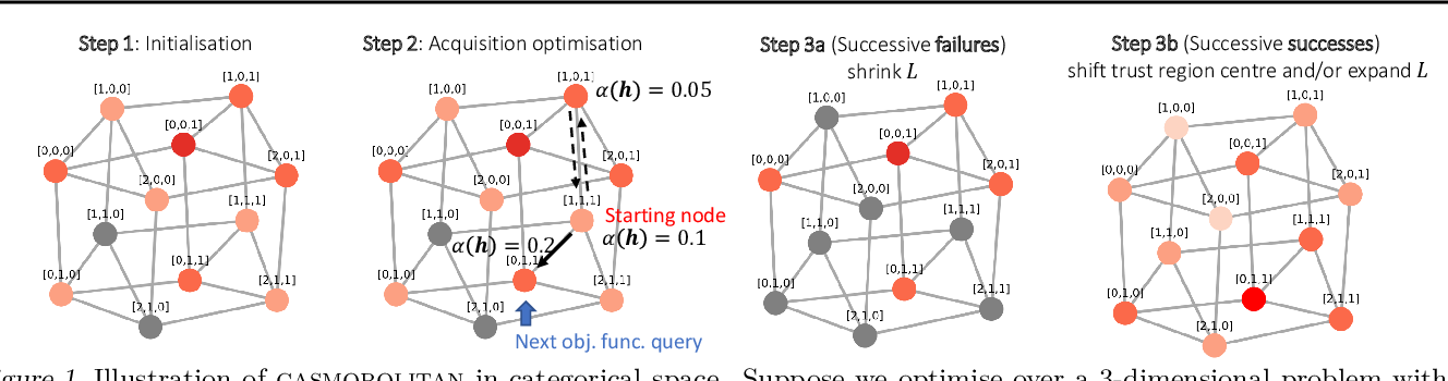 Figure 1 for Think Global and Act Local: Bayesian Optimisation over High-Dimensional Categorical and Mixed Search Spaces