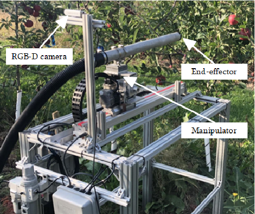 Figure 1 for System Design and Control of an Apple Harvesting Robot