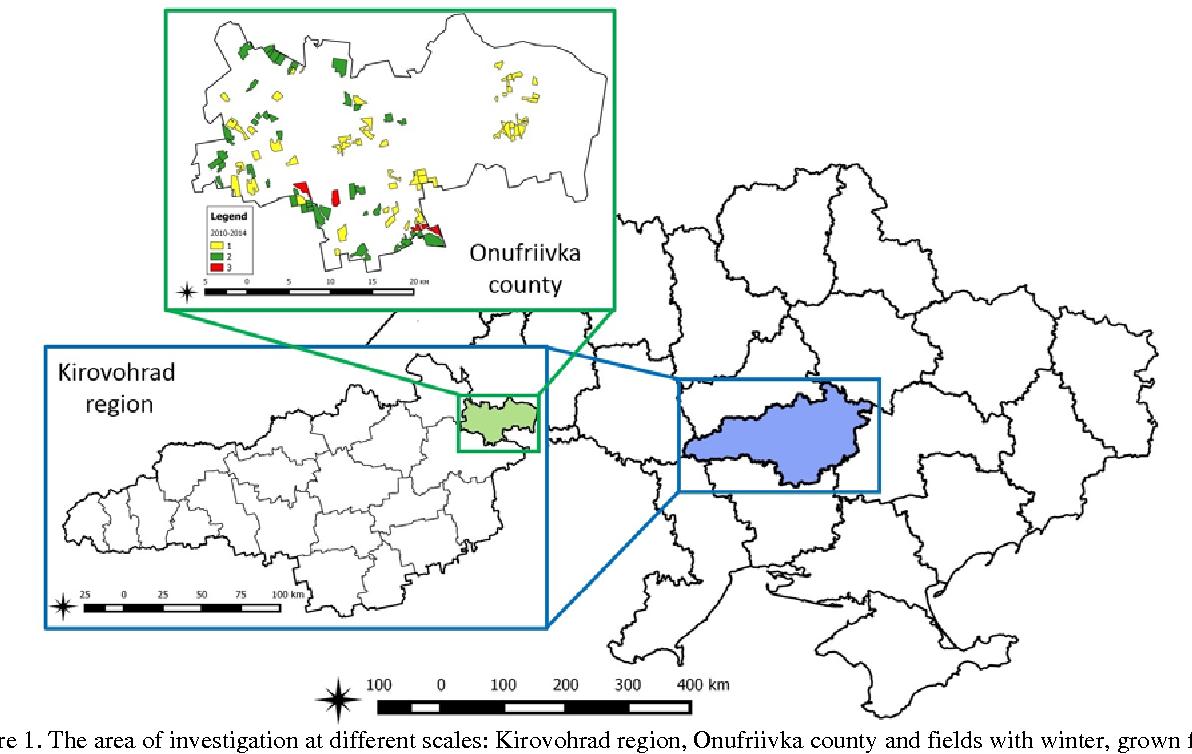 Optics of Kirovograd region: a selection of sites