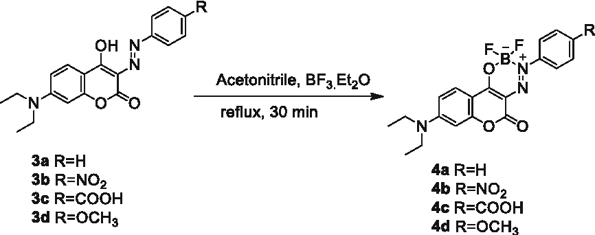 Figure 4 from Red Emitting Coumarin—Azo Dyes : Synthesis