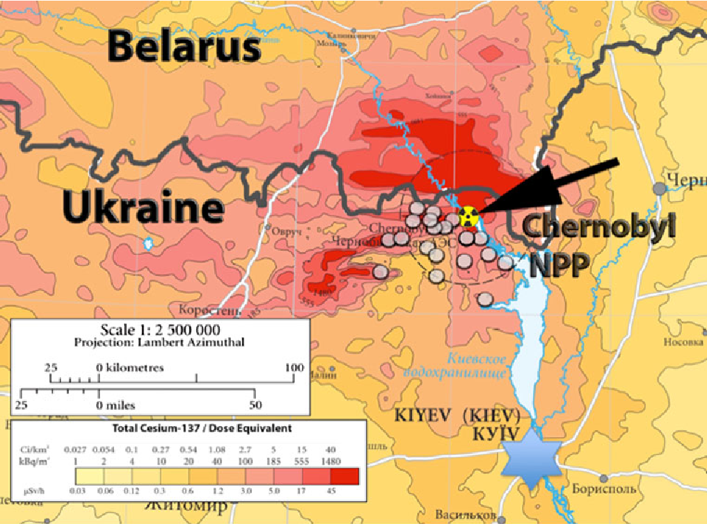 Figure 1 from Ecosystems effects 25 years after Chernobyl ...