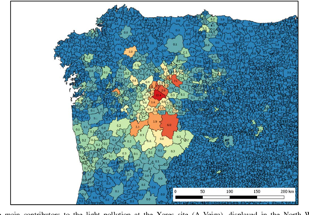 PDF] Photons without borders: quantifying light pollution