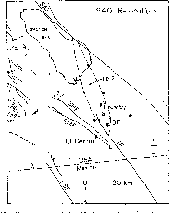 Figure 15 From Depth Of Seismicity In The Imperial Valley Region