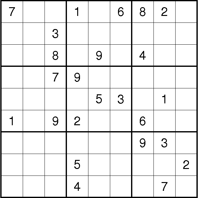 Figure 1 from SudokuSat-A Tool for Analyzing Difficult Sudoku