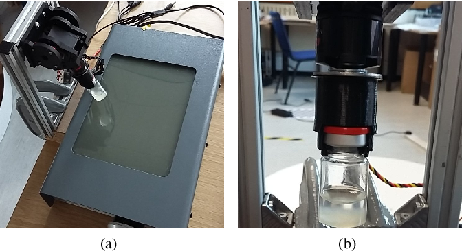 Figure 3 for The Automated Inspection of Opaque Liquid Vaccines
