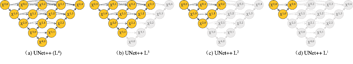 Figure 2 for UNet++: Redesigning Skip Connections to Exploit Multiscale Features in Image Segmentation