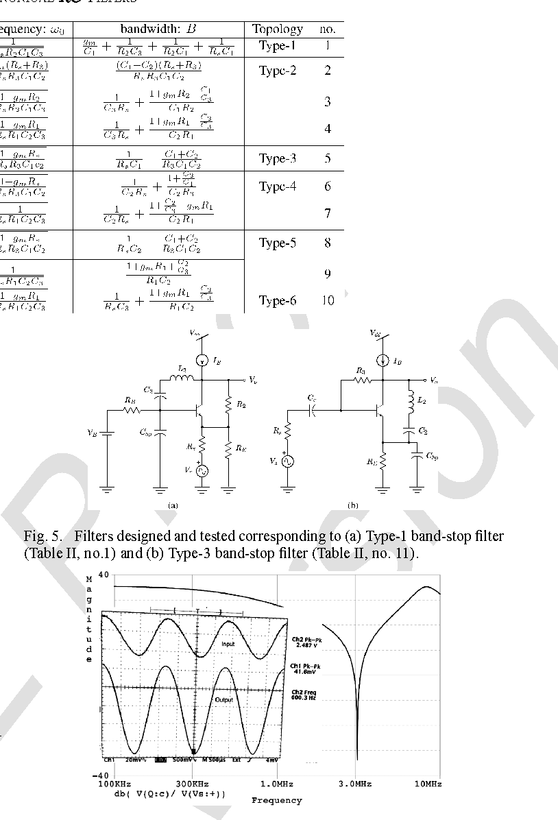 Single Transistor Active Filters What Is Possible And Not Double Secondary Bandpass Filter Circuit Filtercircuit Semantic Scholar
