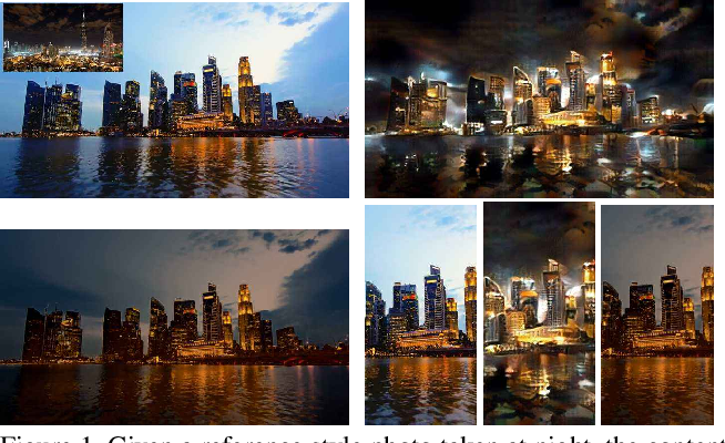 Figure 1 for One-Shot Mutual Affine-Transfer for Photorealistic Stylization