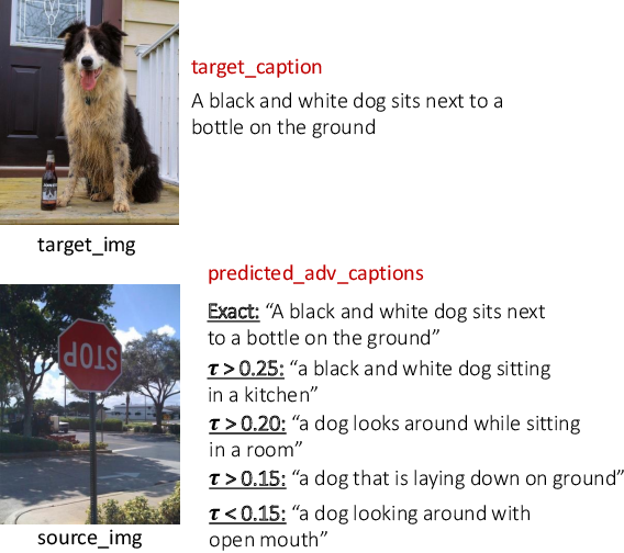 Figure 1 for Controlled Caption Generation for Images Through Adversarial Attacks