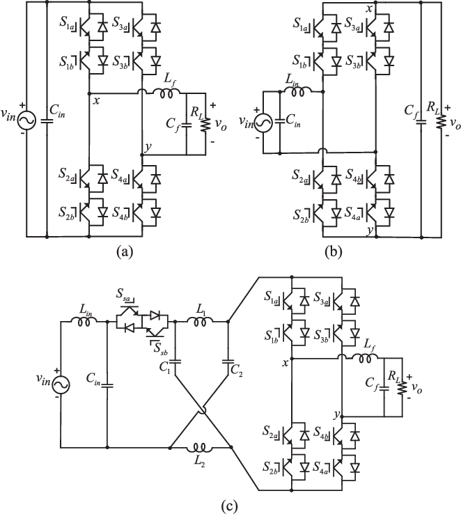 A Single Phase Buckboost Matrix Converter With Only Six Switches