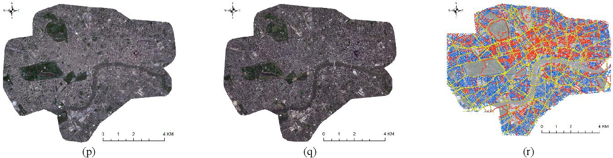 Figure 2 for Transportation Density Reduction Caused by City Lockdowns Across the World during the COVID-19 Epidemic: From the View of High-resolution Remote Sensing Imagery