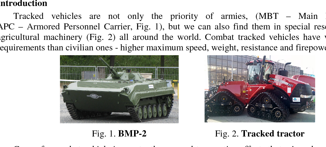 PDF] Tracked vehicle movement modelling - Semantic Scholar