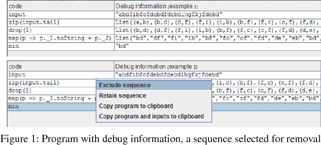 Figure 2 for Programming Not Only by Example