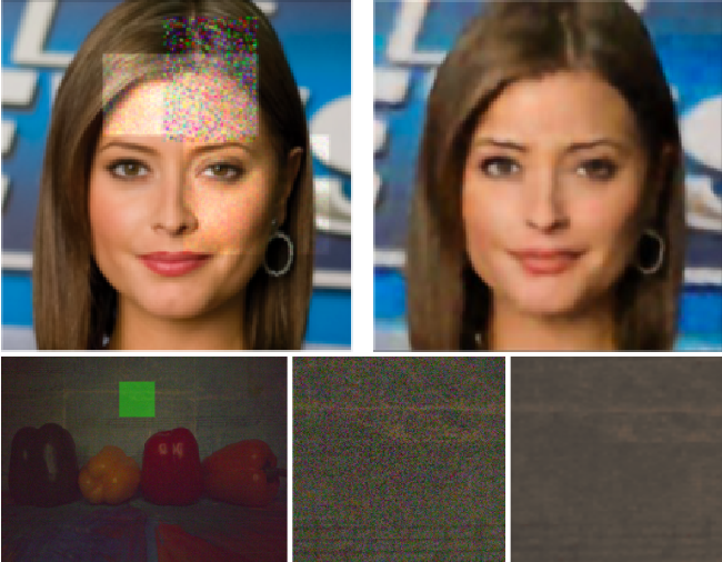 Figure 1 for Learning Deep Latent Subspaces for Image Denoising