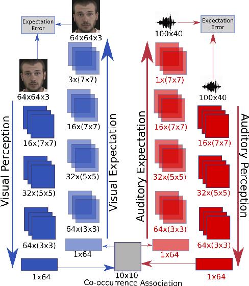 Figure 1 for Expectation Learning for Adaptive Crossmodal Stimuli Association