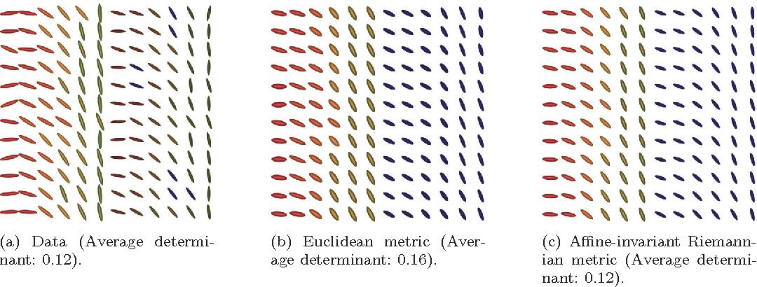 Figure 4 for Total variation regularization for manifold-valued data