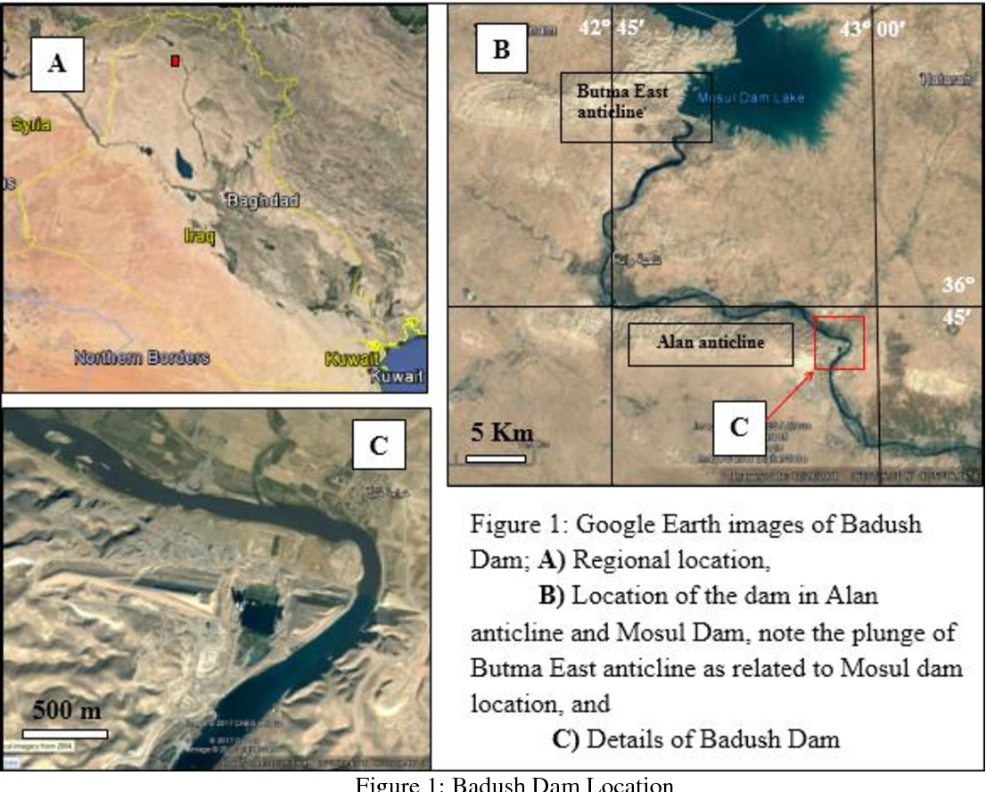 Figure 5 from Badush Dam, NW Iraq : A Geological Study - Semantic