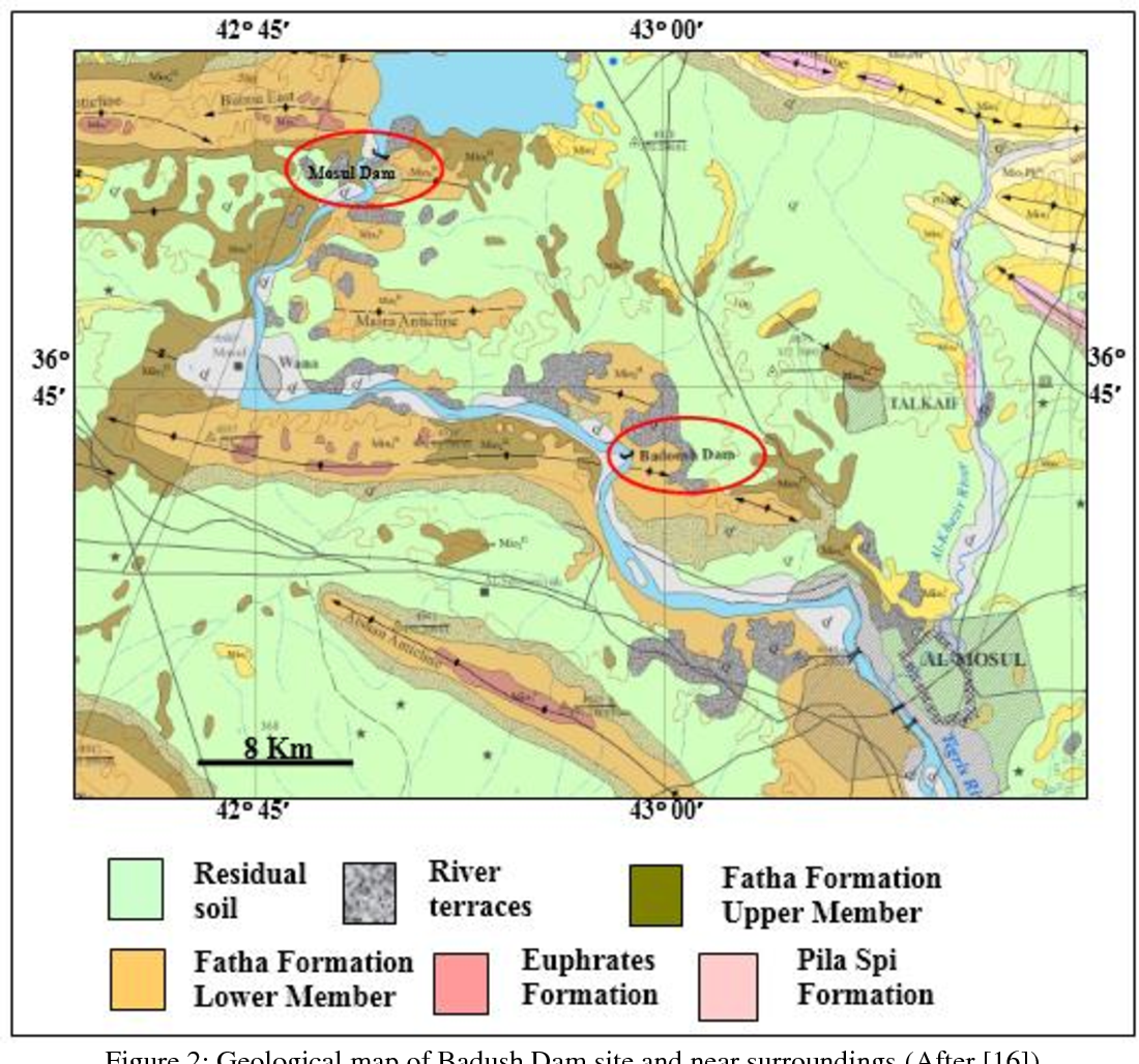 Figure 2 from Badush Dam, NW Iraq : A Geological Study - Semantic ...